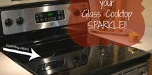 make your glass cooktop sparkle, appliances, cleaning tips