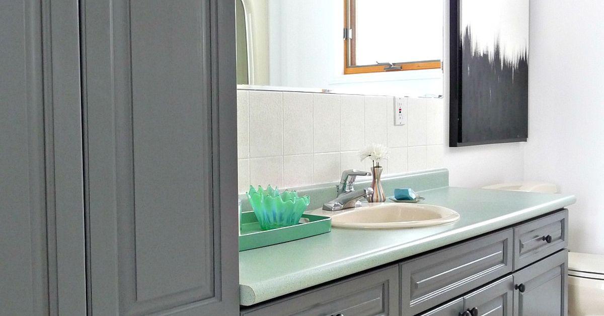 Bathroom Make Over budget-friendly bathroom makeover | hometalk