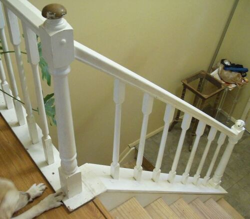 Question On Prepping/painting My Banisters