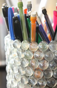 Upcycled plastic bottles tikva morrow 39 s clipboard on - Recycled soda bottle crafts ...