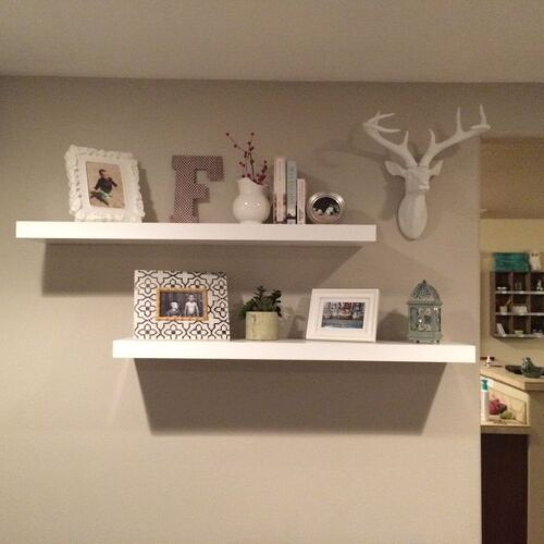 Inspiration needed hometalk How to arrange floating shelves on a wall