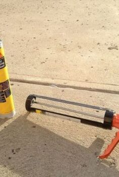 keep concrete crack resistant, concrete masonry, home maintenance repairs, Make concrete expansion joints watertight with a self leveling sealant
