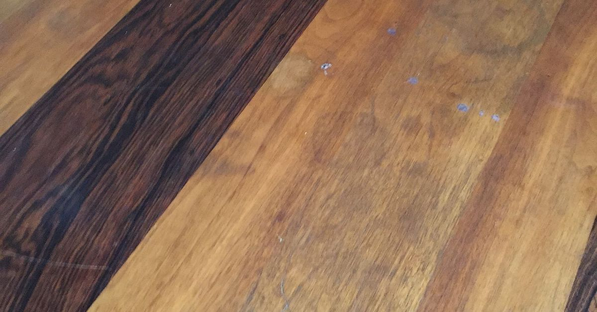 . Best way to refinish this table   Hometalk