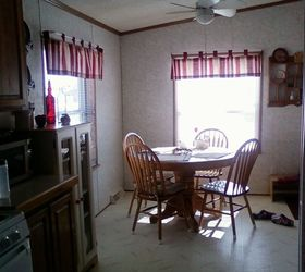 Before And After Redo Mobile Home Kitchen Remake Hometalk