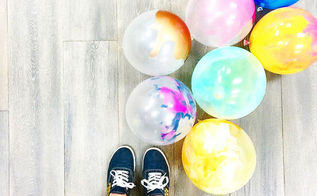 lilyshop how to with jessie jane paint balloons, crafts, how to