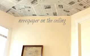 create a focal wall that will hide imperfections for less than 6, home decor, repurposing upcycling, use old newspapers or book pages maps or an atlas as a creative wall covering