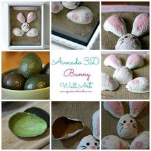 recycle your avocado shells into art, crafts, seasonal holiday decor, 3D Avocado Art