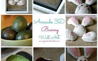 recycle your avocado shells into art, crafts, seasonal holiday decor, 3D Avocado Art