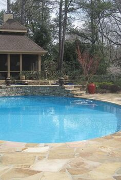 outdoor retreats, landscape, outdoor living, pool designs, Swimming pools and spas are one of the most sought after outdoor retreats Pools can be large and sophisticated with many features or small and simple