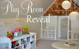 play room reveal, entertainment rec rooms, home decor, Come on in look around the playhouse Loads of DIY projects in the playroom