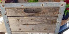 re purposed old milk crate, container gardening, gardening, repurposing upcycling