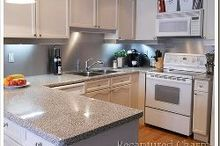 backsplash with the look of stainless steel, home decor, kitchen backsplash, kitchen design
