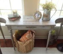 diy 25 table upcycle amp my first annie sloan experience, chalk paint, painted furniture, Voila My first time using Annie Sloan and I m hooked