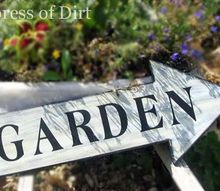 what s your garden sign, crafts, gardening