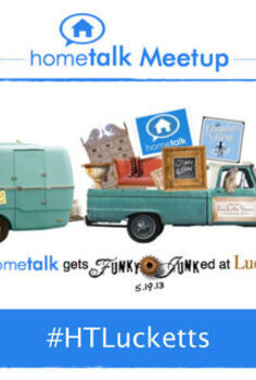 hometalk gets funky junked at lucketts, We re super excited to be hosting a Hometalk Meetup with Donna from Funky Junk Interiors at our annual Spring Market in Leesburg VA For more details about the market