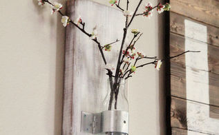diy coffee bottle wall vase, crafts, repurposing upcycling, DIY Wall Vase from a Coffee Bottle