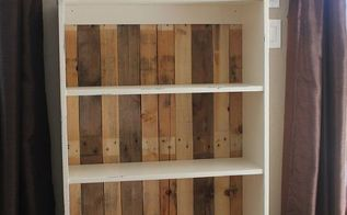 diy pallet bookcase, diy, how to, pallet, repurposing upcycling, storage ideas, Easy project in less than an hour