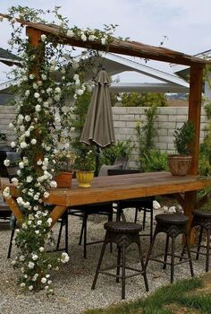 outdoor bar, outdoor living