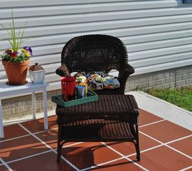 How To Paint Patio Tiles, Concrete Masonry, Painting, Patio, Porches, Our