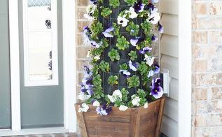 flower tower, flowers, gardening, Flower Tower