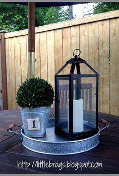 back deck decorating, decks, gardening, outdoor living, porches