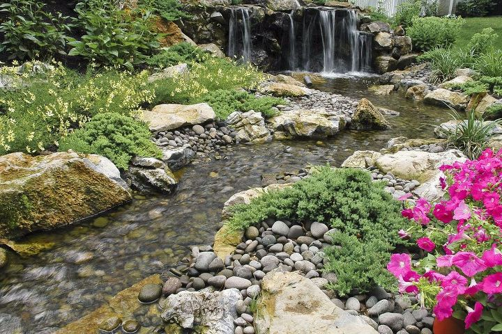 Fun beautiful and safe for kids think pondless for Design of pondless waterfalls