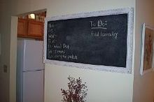 how to make a diy framed chalkboard, chalkboard paint, crafts, how to, repurposing upcycling