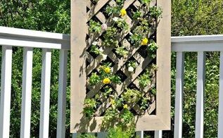 diy vertical garden, diy, flowers, gardening, how to, urban living, Vertical gardens are perfect for small decks or apartment dwellers