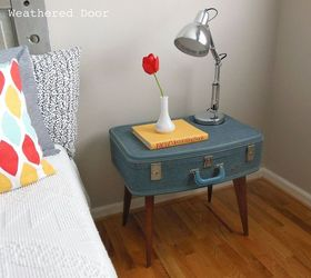 Superior Diy Suitcase Side Table, Painted Furniture, Repurposing Upcycling, A New  Useful Side Table