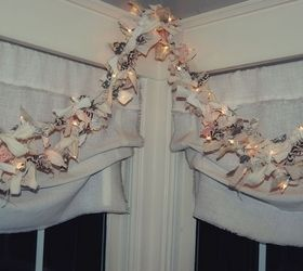 Lighted Rag Garland DIY Hometalk. ➤. Decorative ...