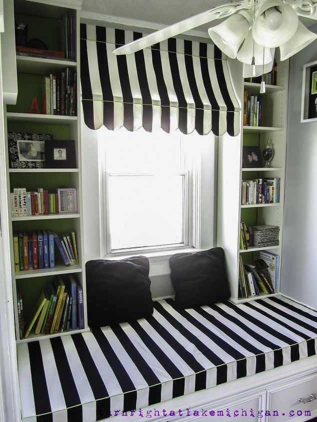 Phenomenal Our Window Seat Family Library Hometalk Largest Home Design Picture Inspirations Pitcheantrous