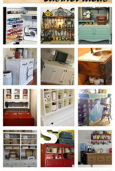 22 clever cabinet ideas all found on hometalk, kitchen cabinets, painted furniture, So many wonderfully clever ideas for reusing cabinets