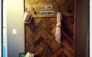 diy pallet hallway tree, diy, pallet, repurposing upcycling, woodworking projects