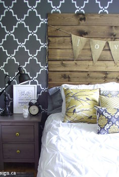 rustic chic master bedroom reveal, bedroom ideas, home decor