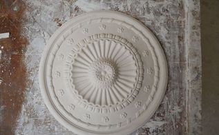 casting a plaster ceiling rose, crafts, diy, home decor, how to, How to make this ceiling rose