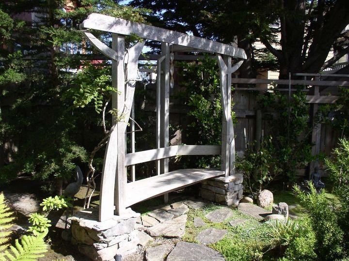 A Garden Arbor Bench Hometalk