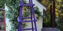 diy easy garden obelisk, diy renovations projects, gardening, Easy garden obelisk