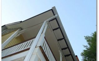 roof plumbing installing gutters, curb appeal, home maintenance repairs, roofing, Installing Half Round Gutters