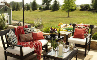 my back yard painted patio furniture, outdoor furniture, outdoor living, painted furniture, After