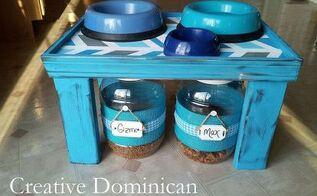 diy pet feeding station, diy, woodworking projects, DIY Pet feeding station
