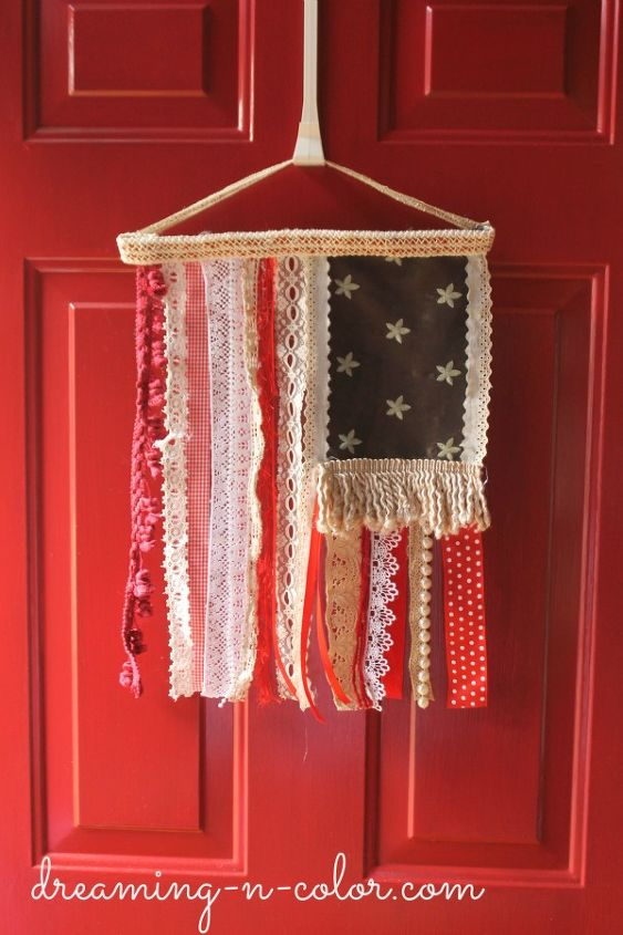 Proud to be an american flag hometalk for American flag decoration ideas