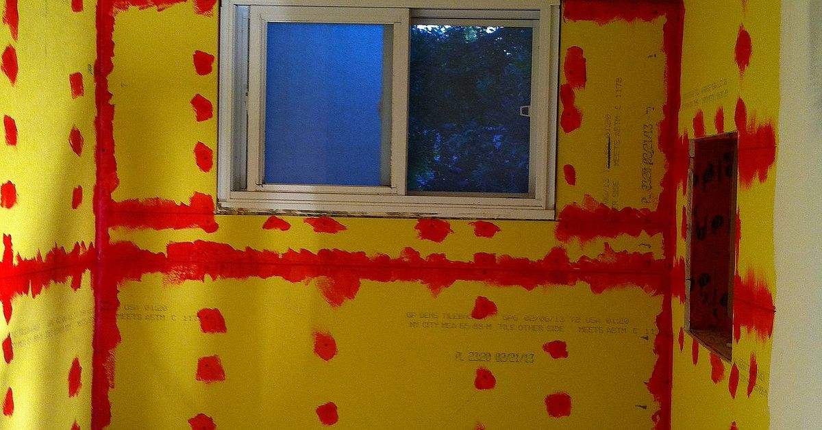 Yellow Gypsum Board : Dens board hometalk