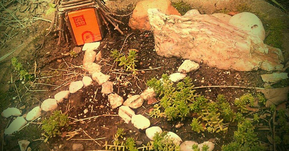 Gnome Garden: Teeny Tiny Little Gnome Home & Garden!