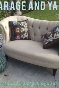 my garage yard moving sale tips, cleaning tips, outdoor living, Make Vignettes Stage your items in a fashion that makes them look presentable and new This will give your customer more of a visual of how that item could work in their home VISUALS ARE IMPORTANT