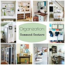 command centers, cleaning tips, shelving ideas