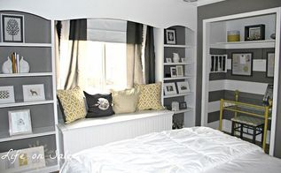 creating an office in a closet, closet, craft rooms, home decor, home office, A peek of the room