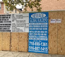 bang for your buck remodeling options save look good, home improvement, Our companies General Contractor sign we put up on building sites