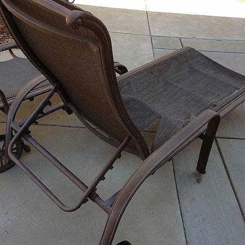 How Do You Repair Chaise Lounge Fabric Hometalk