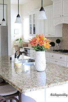 adding yellow touches to the kitchen, home decor, kitchen design