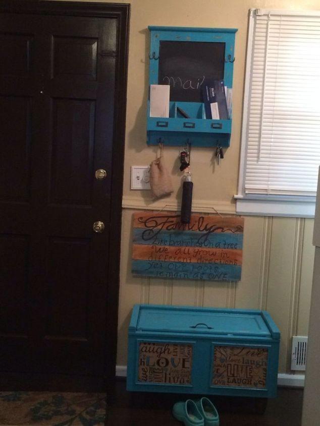 Painted Foyer Cabinets : Kitchen cabinet makeover hometalk